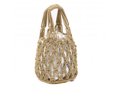 BOLSO COTTON CROCHET ASAS ELSA